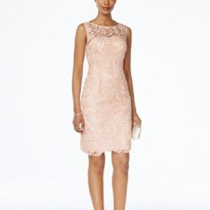 New Adrianna Papell Lace Sheath Dress